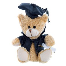 Graduation Teddy Bear Smarty Pants Light Brown (15cmST)