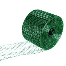 Wire Hexanet Deco (Chicken Wire)10cmx20m 24gauges Dark Green