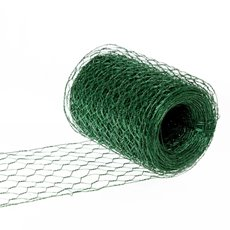 Wire Hexanet Deco (Chicken Wire)20cmx20m 24gauges Dark Green