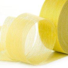 Nonwoven Floral Decor Ribbon - Ribbon Floral Deco Bri.Yellow (4cmx40m)