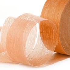 Nonwoven Floral Decor Ribbon - Ribbon Floral Deco Orange (4cmx40m)