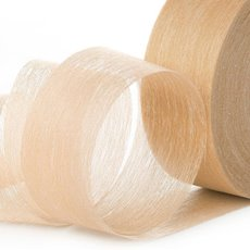 Nonwoven Floral Decor Ribbon - Ribbon Floral Deco Cream (4cmx40m)