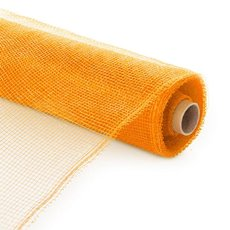 Plain Mesh Wrap - Plastic Mesh Roll Orange (55cmx9m)