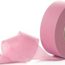 Nonwoven Floral Decor Ribbon - Nonwoven Ribbon Nova Baby Pink (4cmx40m)