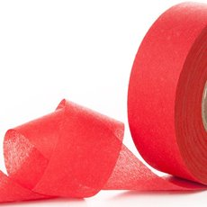 Nonwoven Floral Decor Ribbon - Nonwoven Ribbon Nova Bright Red (4cmx40m)