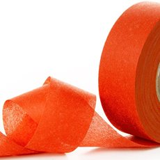 Nonwoven Floral Decor Ribbon - Nonwoven Ribbon Nova Bright Orange (4cmx40m)