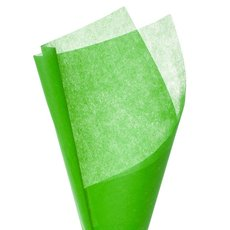 Nonwoven Wrap Sheets NOVA PK50 Lime (50x70cm)