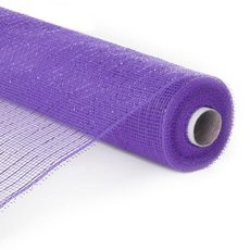 Mesh Metallic Thread Roll Violet (54cmx9.1m)