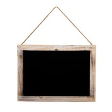 Medium Hanging Chalkboard Brown (30x40cm)