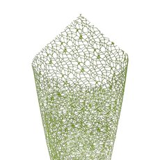 Plain Mesh Wrap - Lace Spider Mesh Sheet Moss (50x70cm) Pack 40