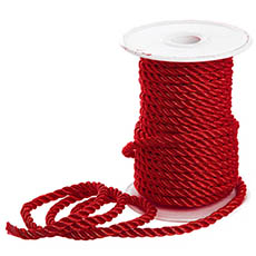 Metallic Rope - Metallic Rope Red (4mmx10m)