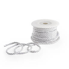 Metallic Rope - Metallic Rope White (4mmx10m)