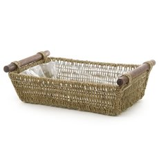Seagrass Tray Rectangle Large Natural (44x34x13cmH)