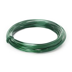 Decor Aluminium Wire - Wire Aluminium 2mmx12m 12 gauges 100g Moss Green