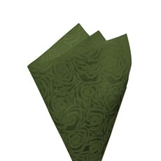 Printed Nonwoven Design - Nonwoven Wrap Floral 80gsm Moss (50x70cm) Pack 50