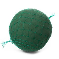 Foam Spheres, Cones & Cylinders - Oasis IDEAL Floral Foam Sphere Netted (22cm)