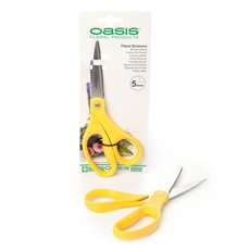 Scissors Florist and Ribbon 220mm Oasis Yellow Handle