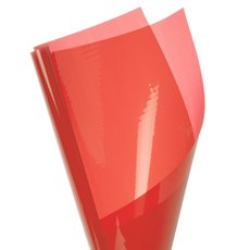 Cello Coloured Plain - Coloured Cellophane 40 micron Orange (50x70cm) Pack 150
