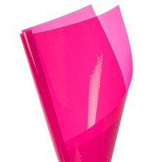 Coloured Cellophane 40 micron Hot Pink 150 Pack (50x70cm)