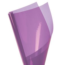 Coloured Cellophane 40 micron Lavender 150 Pack (50x70cm)