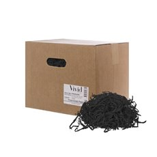 Shredded Paper - Shredded Paper Food Grade Black 1kg