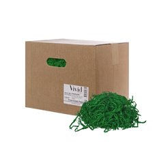 Shredded Paper - Shredded Paper Food Grade Festive Green 1kg