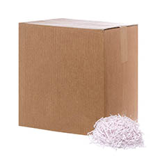 Shredded Paper - Shredded Paper Crinkle Cut White 5kg Box