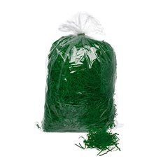 Shredded Paper Springfil 1kg Christmas Green