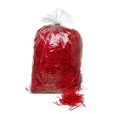 Shredded Paper - Shredded Paper Crinkle Red 1kg