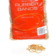 Rubber Bands Bag 500g Size 10 (32x1.5mm)