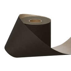 Counter Rolls - Wrapping Narrow Roll Solid Kraft Black (10cmx25m)