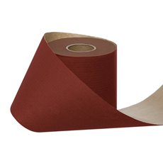 Counter Rolls - Wrapping Narrow Roll Solid Kraft Red (10cmx25m)