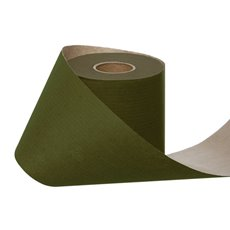 Counter Rolls - Wrapping Narrow Roll Solid Kraft Moss (10cmx25m)