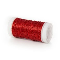 Wire Bouillon Effect 0.35mm 45m 28 gauges Red