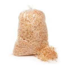 Wood Wool Shred - Wood Wool 1kg Bag (3mm Thick)