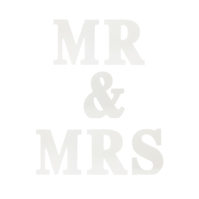Wedding Letters - Wooden Letters