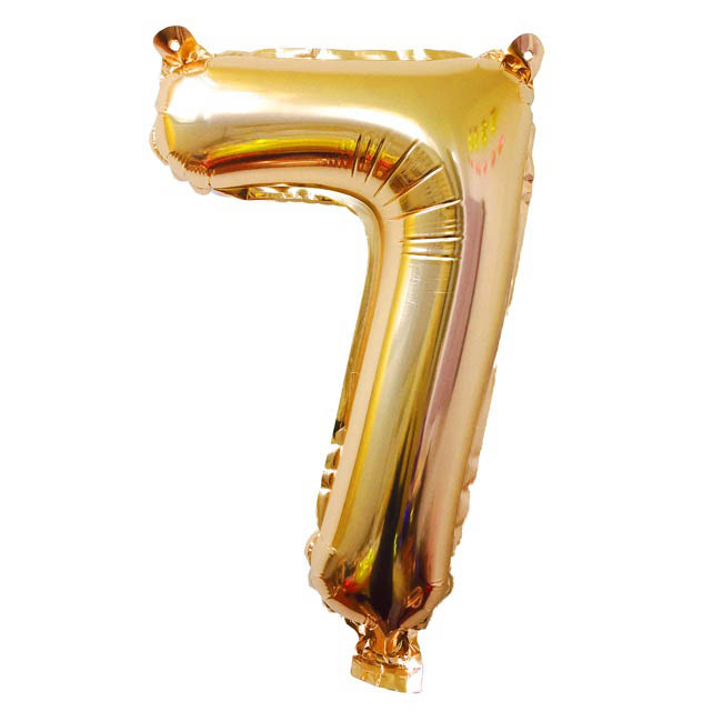 Foil Balloons - Air Fill Foil Balloon Number
