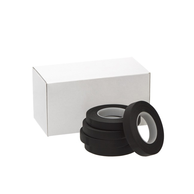 Floral Tapes - ECO Paper Floral Tape Single Black (12.5mm x 27m)
