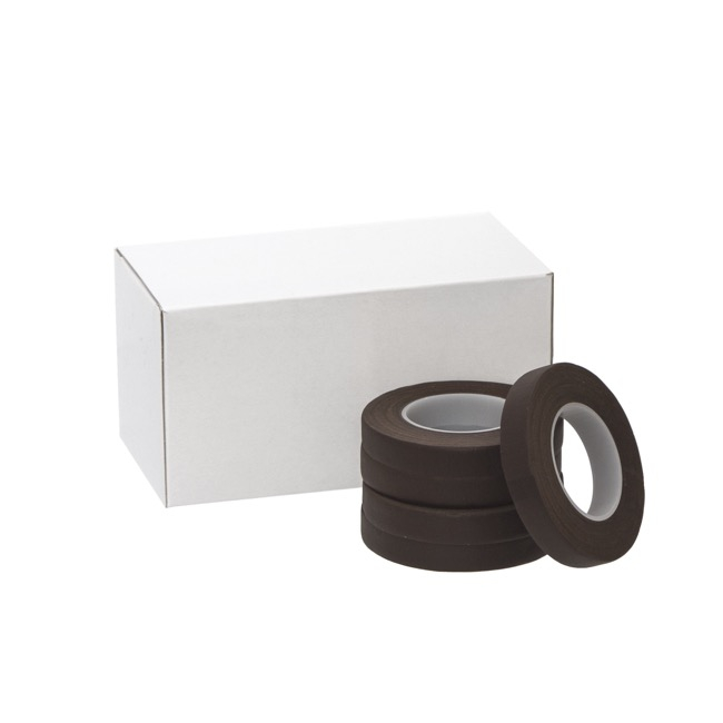 ECO Paper Floral Tape Single Brown (12.5mm x 27m)