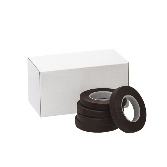 ECO Paper Floral Tape Single Dark Brown (12.5mm x 27m)