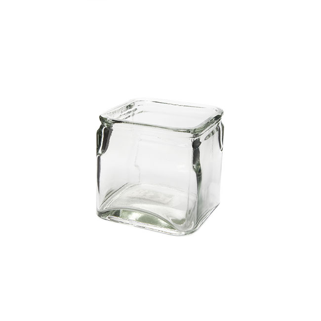 Glass Country Cube Clear (12x12x12cmH )