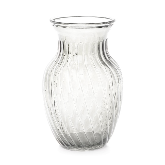 Glass Country Bella Vase 12Dx20mH Clear