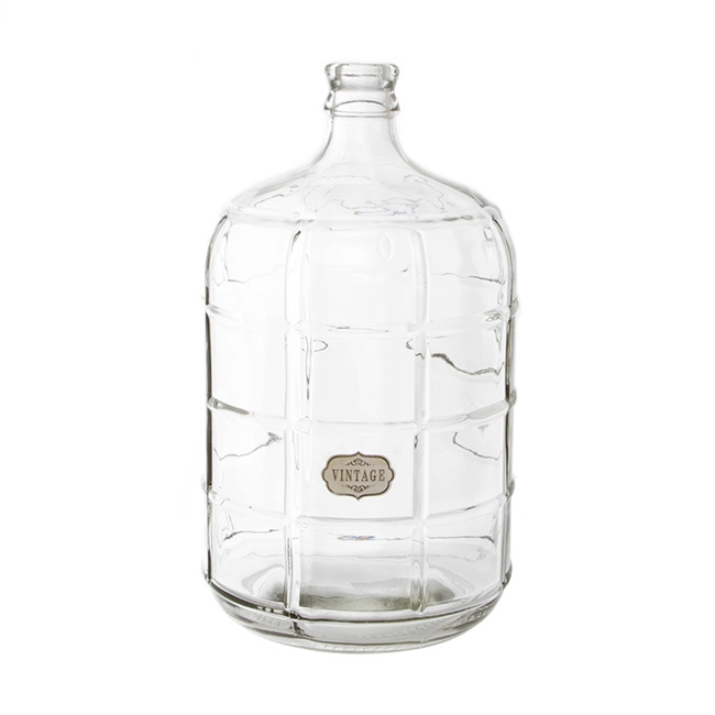 Glass Village Bottle Extra Large Clear (23.5Dx42cmH)