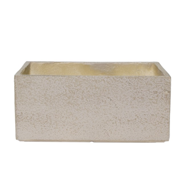Fibreclay Pots & Planters - Fibreclay Trough Rectangle Beige (50x31x22cmH)