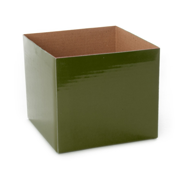 Posie Flower Box Mini - Posy Box Mini Moss (13x12cmH)