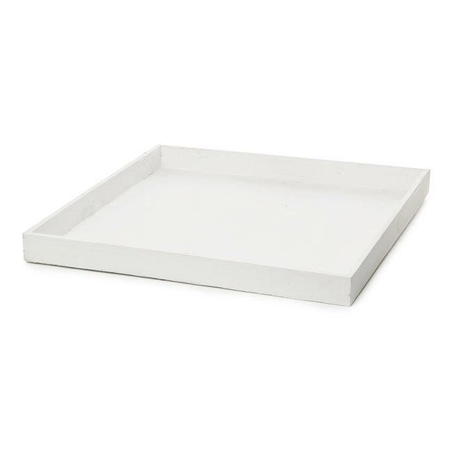 White Serving Platters & Trays: Create an elegant look for your next meal with this selection of serving platters and trays. Elements Inch White Edge Wood Tray. 1 Review. Quick View Red Vanilla 'BAR' and 'PARTY' Serving Dishes with Wooden Tray. 4 Reviews. Quick View $ Was $
