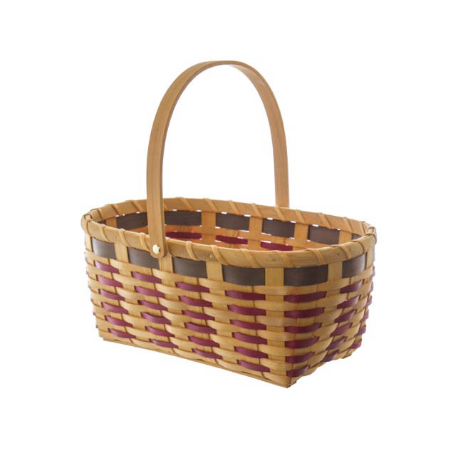 Hamper Tray & Gift Basket - Woven Basket Oval Natural (36x24x15cmH)
