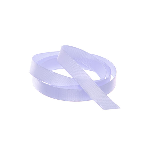 Satin Ribbons - Ribbon Single Face Satin Woven Edge Lavender (10mmx20m)