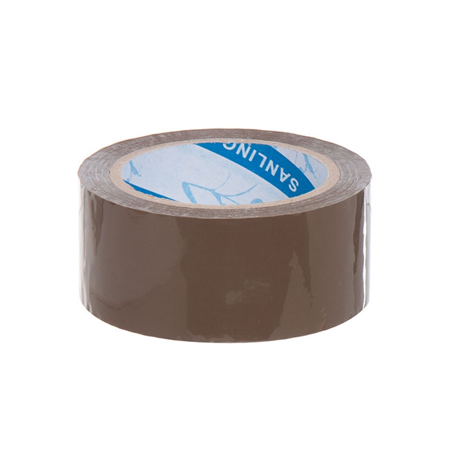 Packing tape plain (38mmx75m) Brown