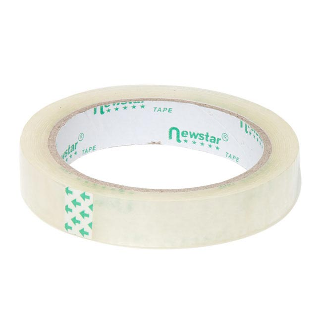 Adhesive Tapes - Premium Cello Sticky Tape Clear (18mmx66m)
